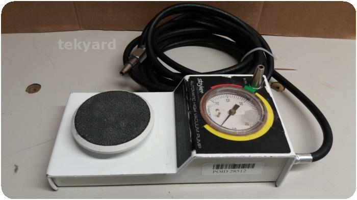STRYKER 206-500 Automatic High Vacuum Foot Pump Vacuum Equipment