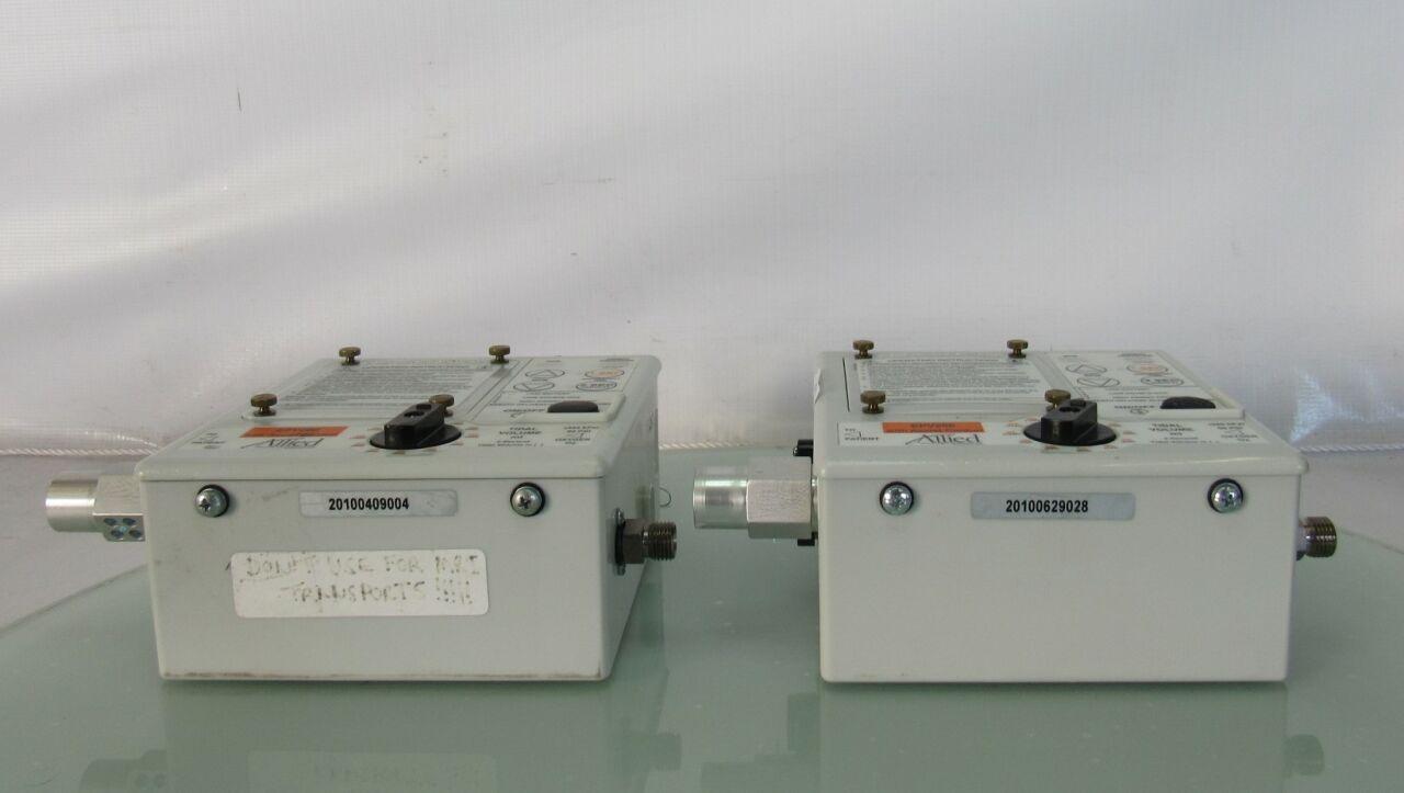ALLIED HEALTHCARE EPV2000  - Lot of 2 Transport Ventilator