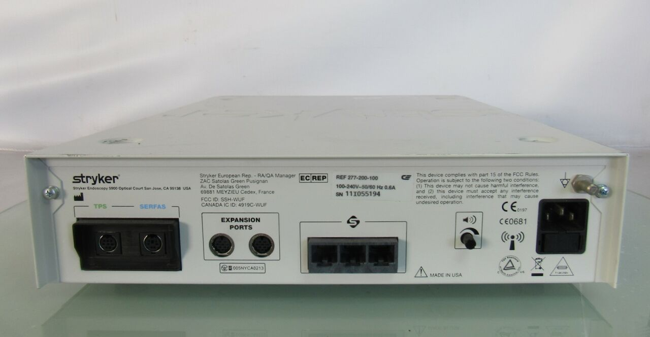 STRYKER iSwitch 277-200-100 Foot Control Unit