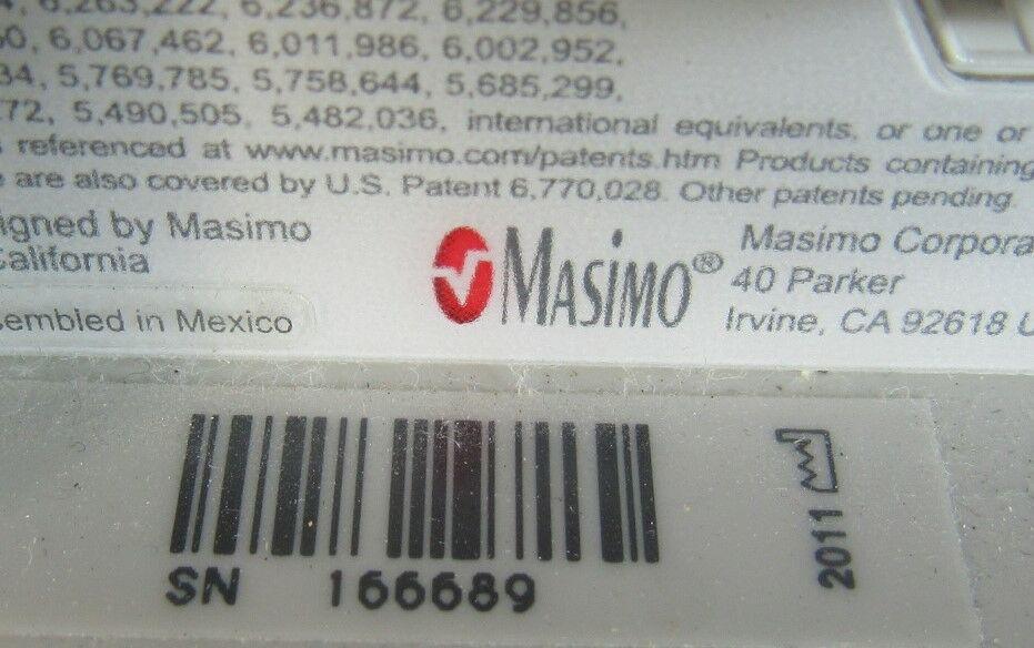 MASIMO Radical 7  - Lot of 4 Oximeter - Pulse