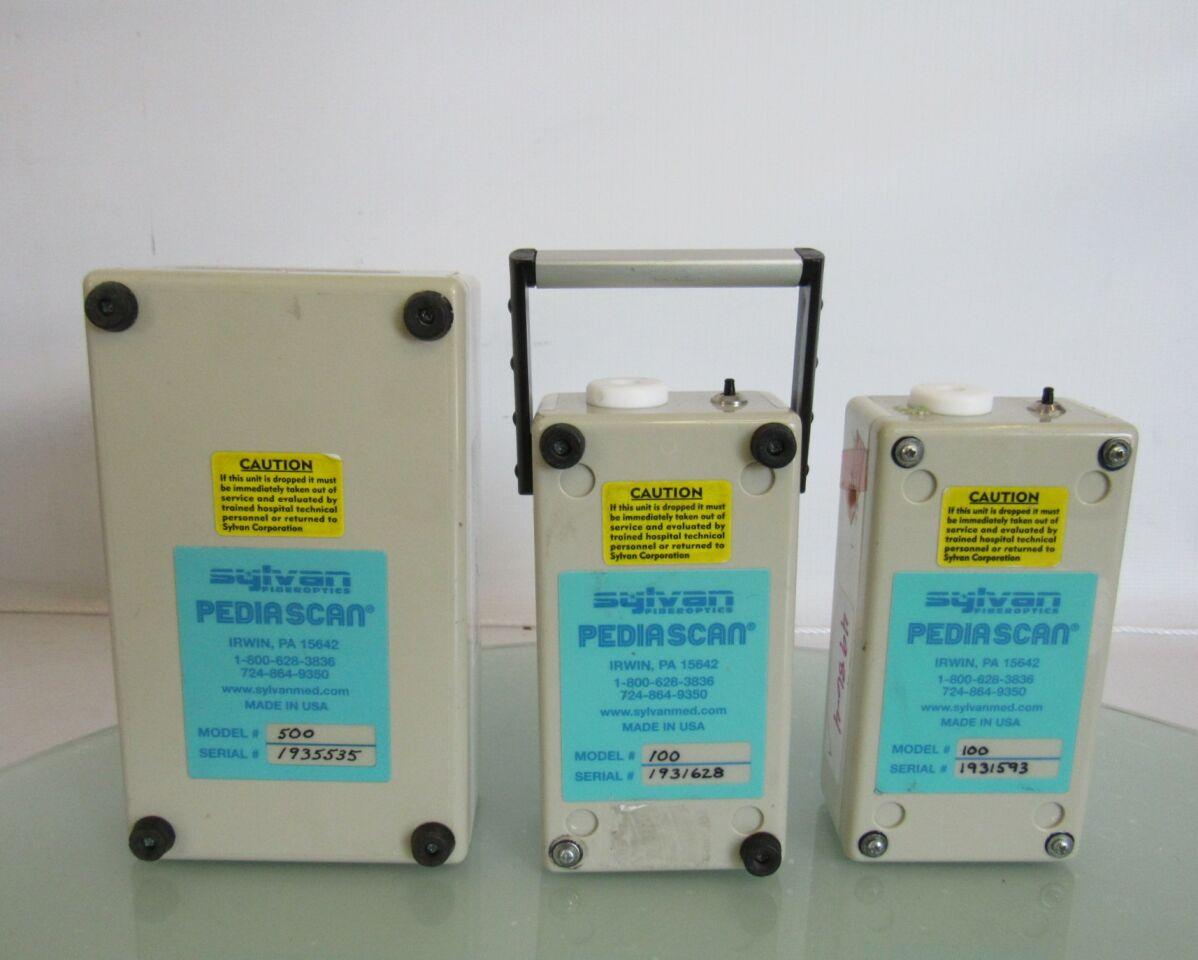 SYLVAN FIBEROPTICS PediaScan Model 500 Light Source