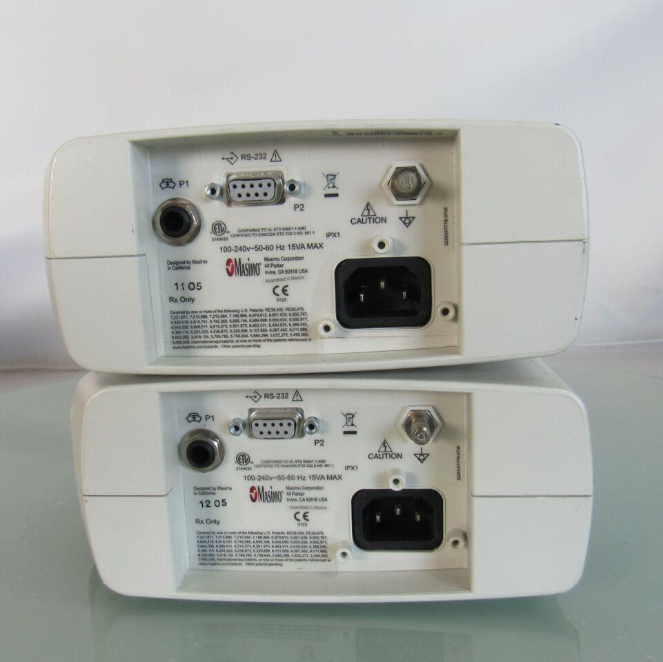 MASIMO Rad 87  - Lot of 2 Oximeter - Pulse