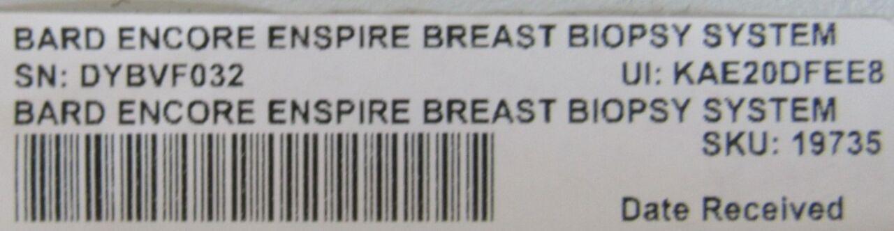 BARD Encore Enspire  - Lot of 2 Biopsy Unit