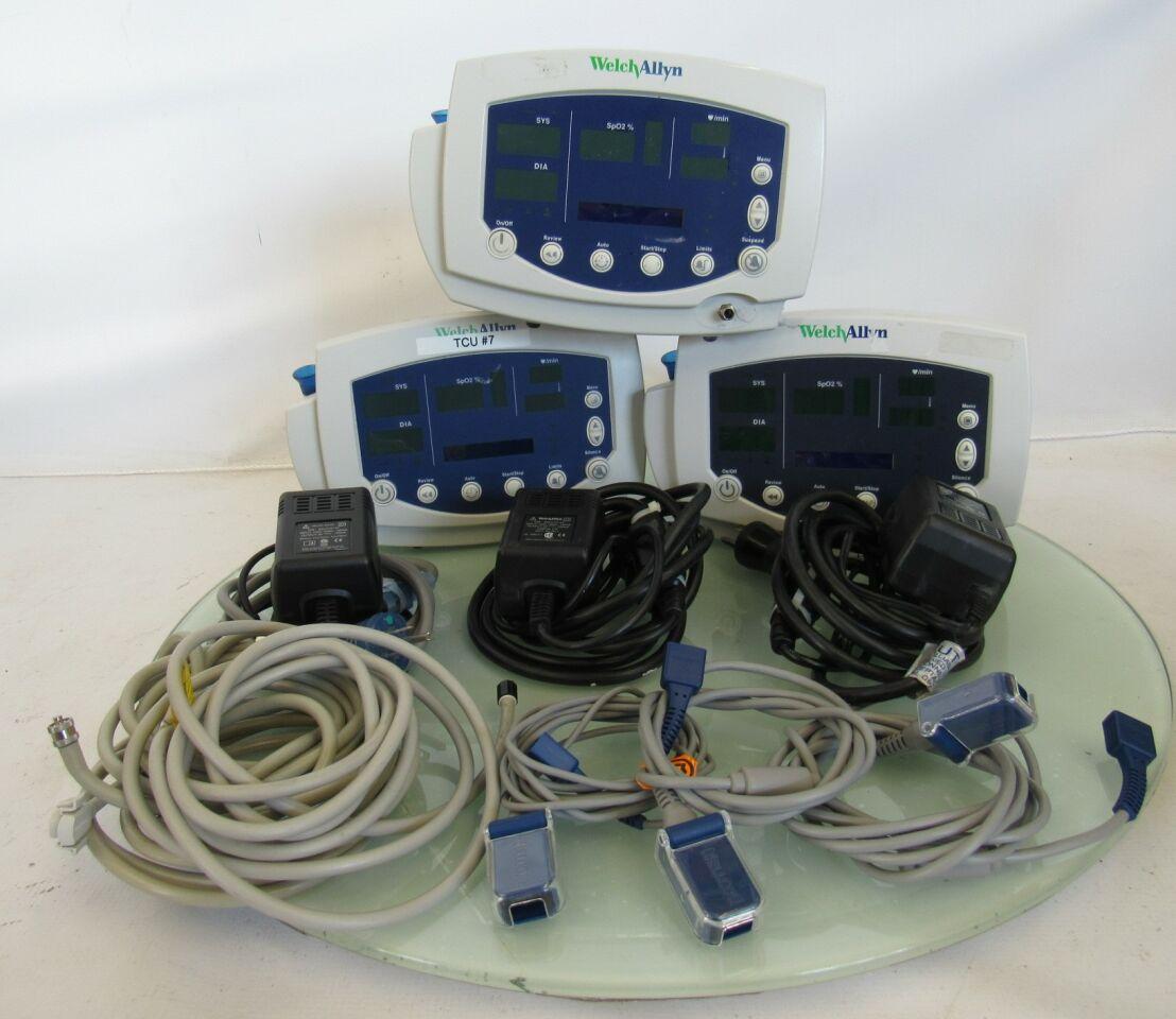 WELCH ALLYN 53N00  - Lot of 3 Monitor