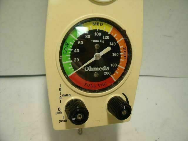 OHMEDA GFF034991     Vacuum Equipment
