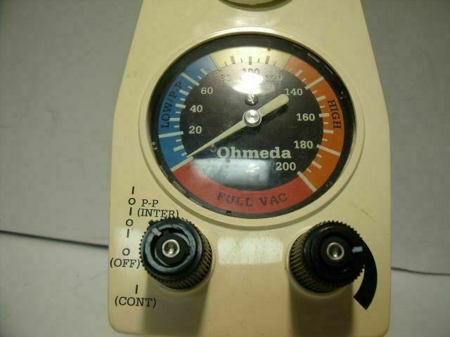 OHMEDA GFEW00393     Vacuum Equipment