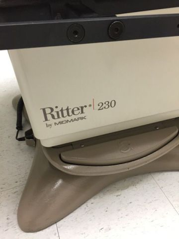 RITTER 230 Exam Table