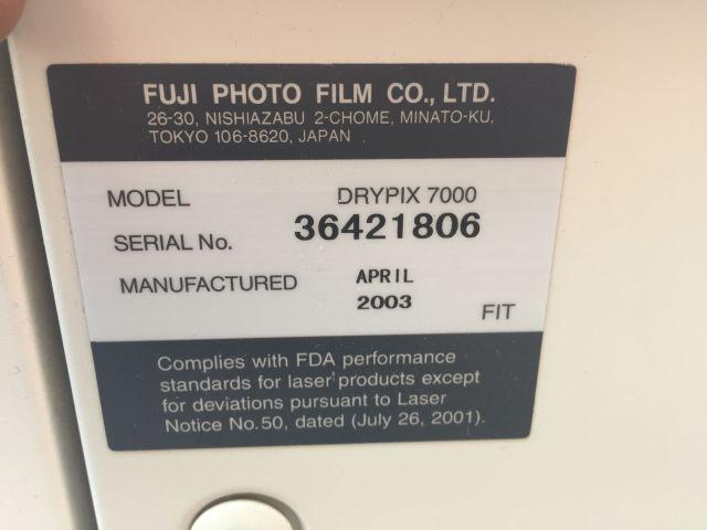 FUJI Drypix 7000 Dry Camera