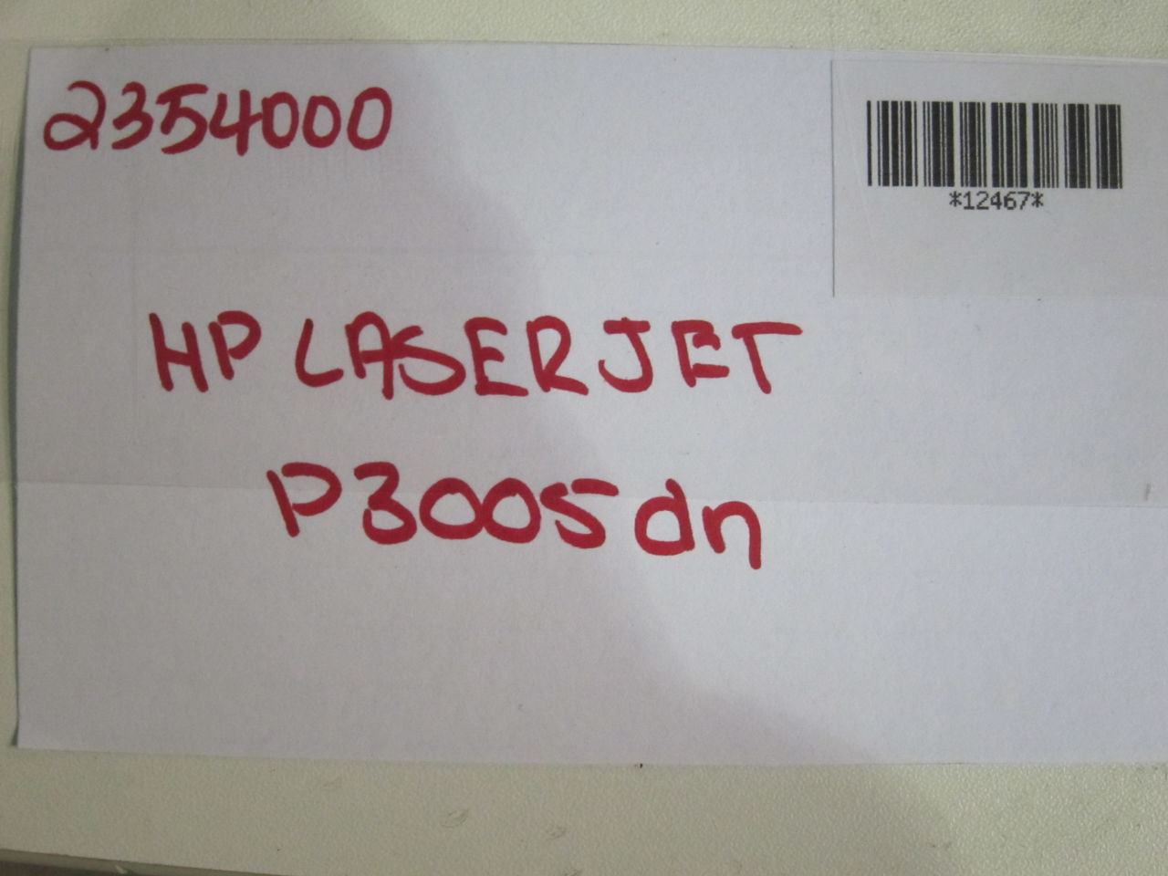 HP Laserjet P3005dn Printer