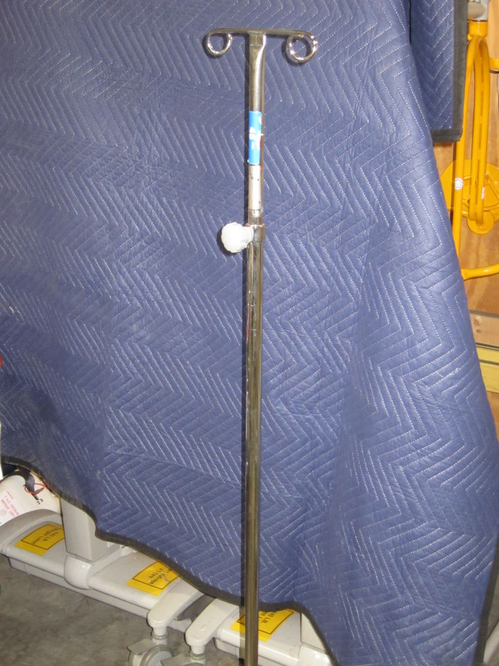 Stainless Steel IV Poles