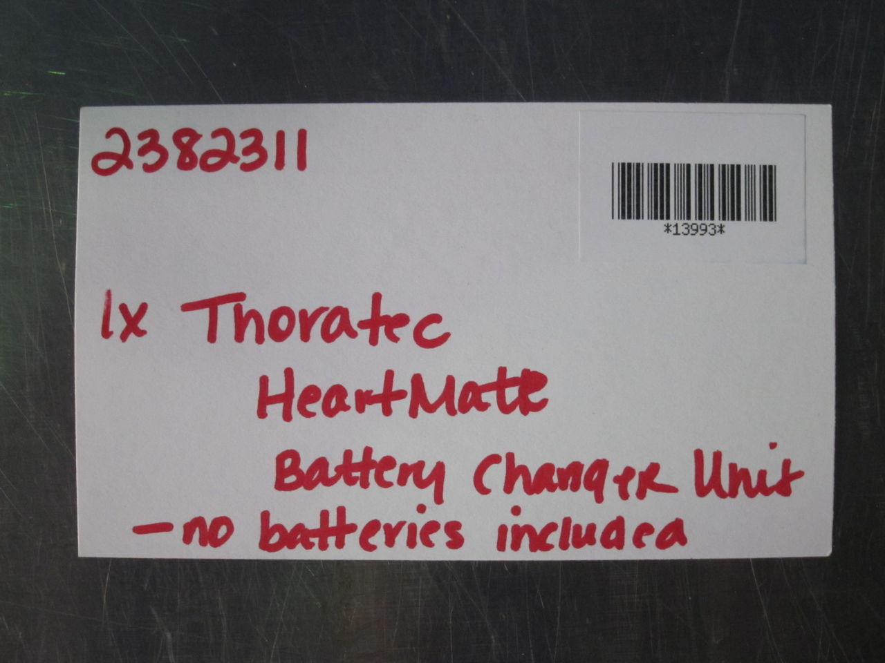 THORATEC HeartMate Battery Charger