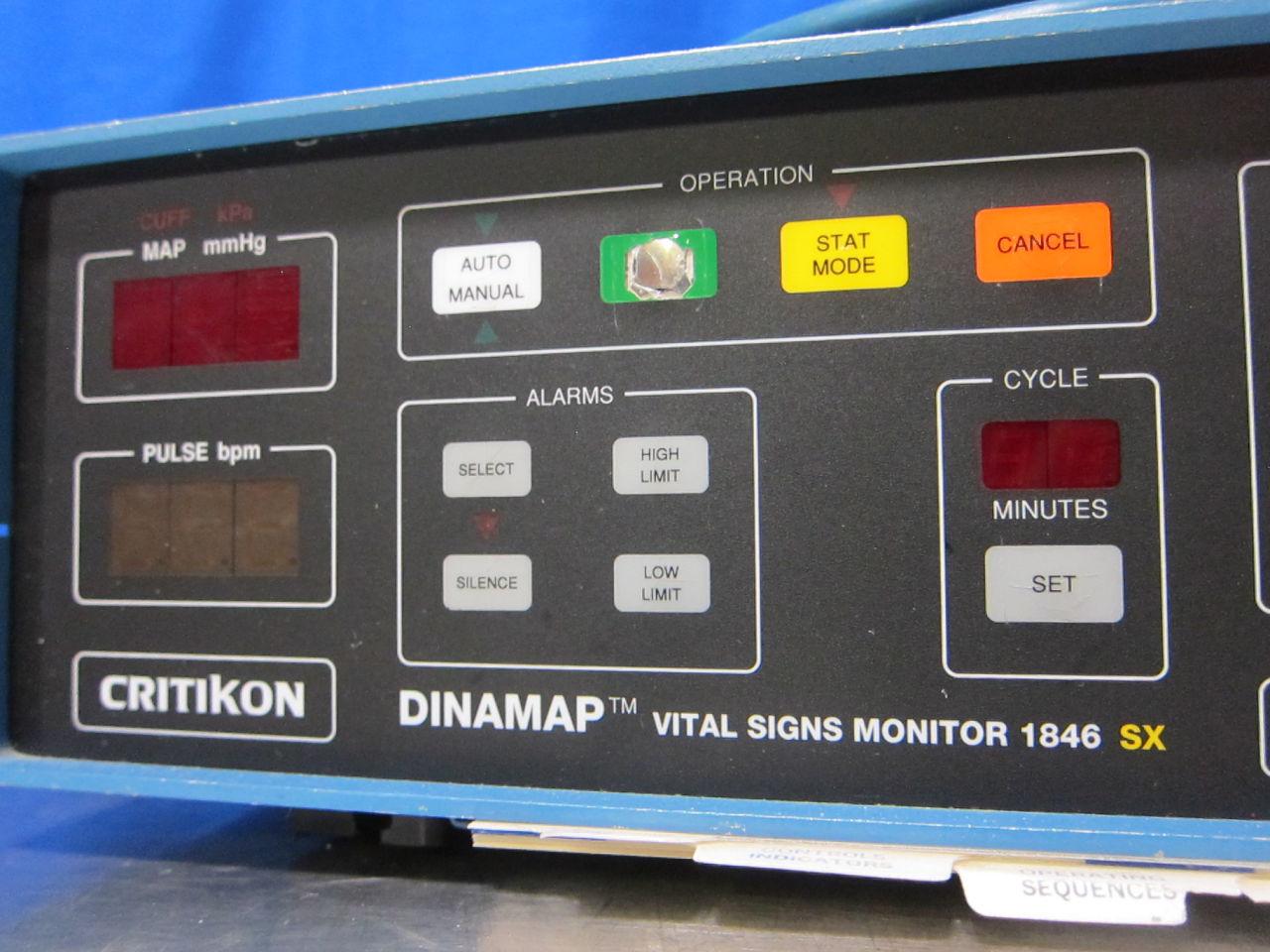 CRITIKON Dinamap 1846 SX Monitor