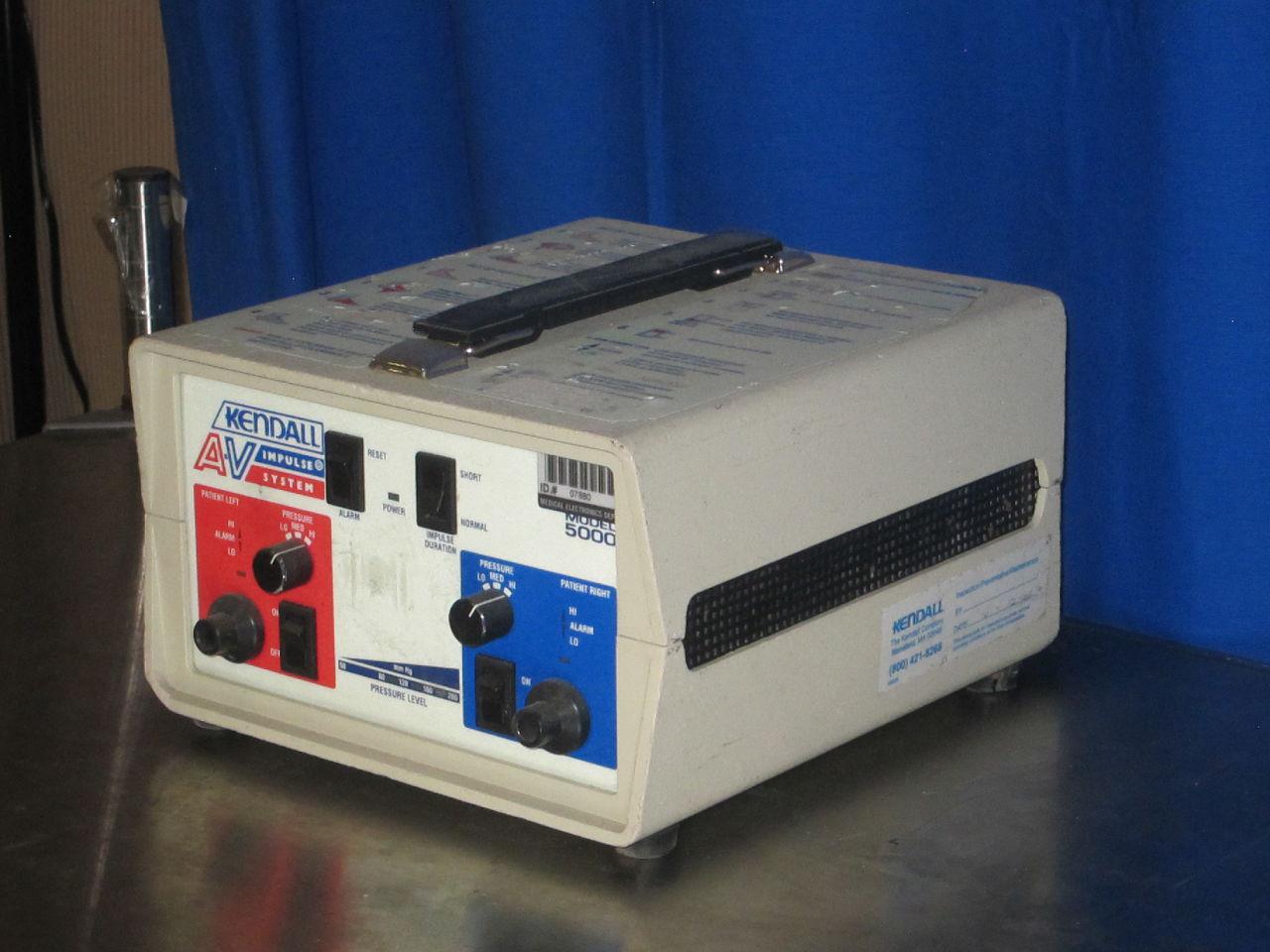 KENDALL Model 5000 Pump Vascular Compression