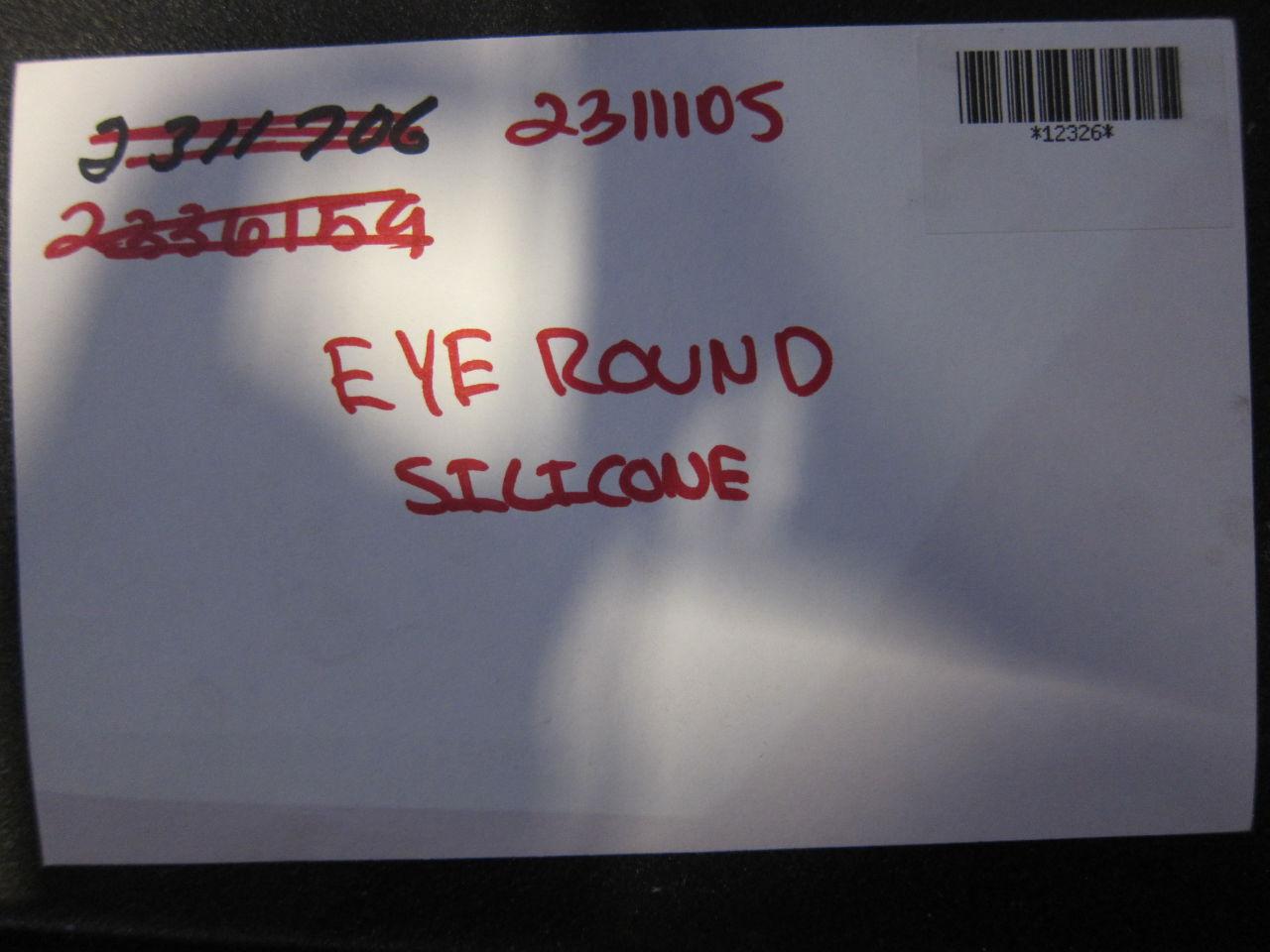 Eye Round Silicone
