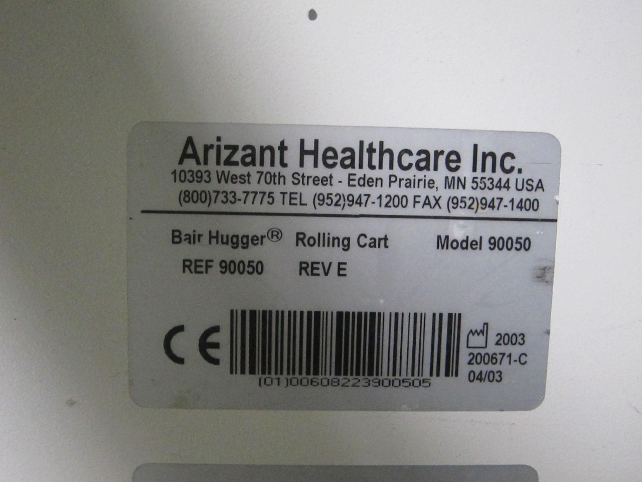 ARIZANT HEALTHCARE Bair Hugger 90050 Rolling Cart