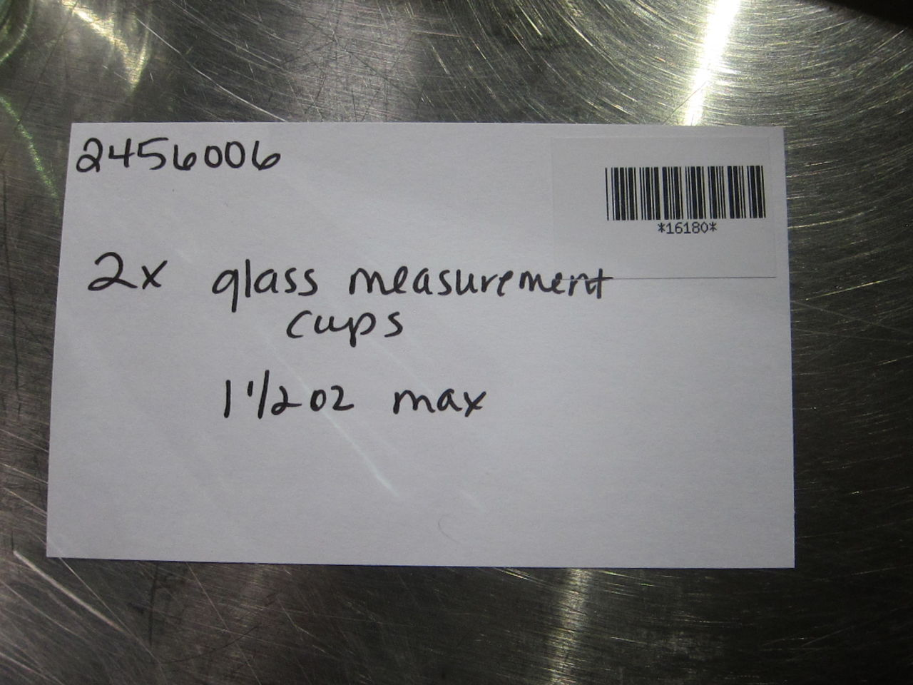1.5 oz Max Measurement Cups - Lot of 2