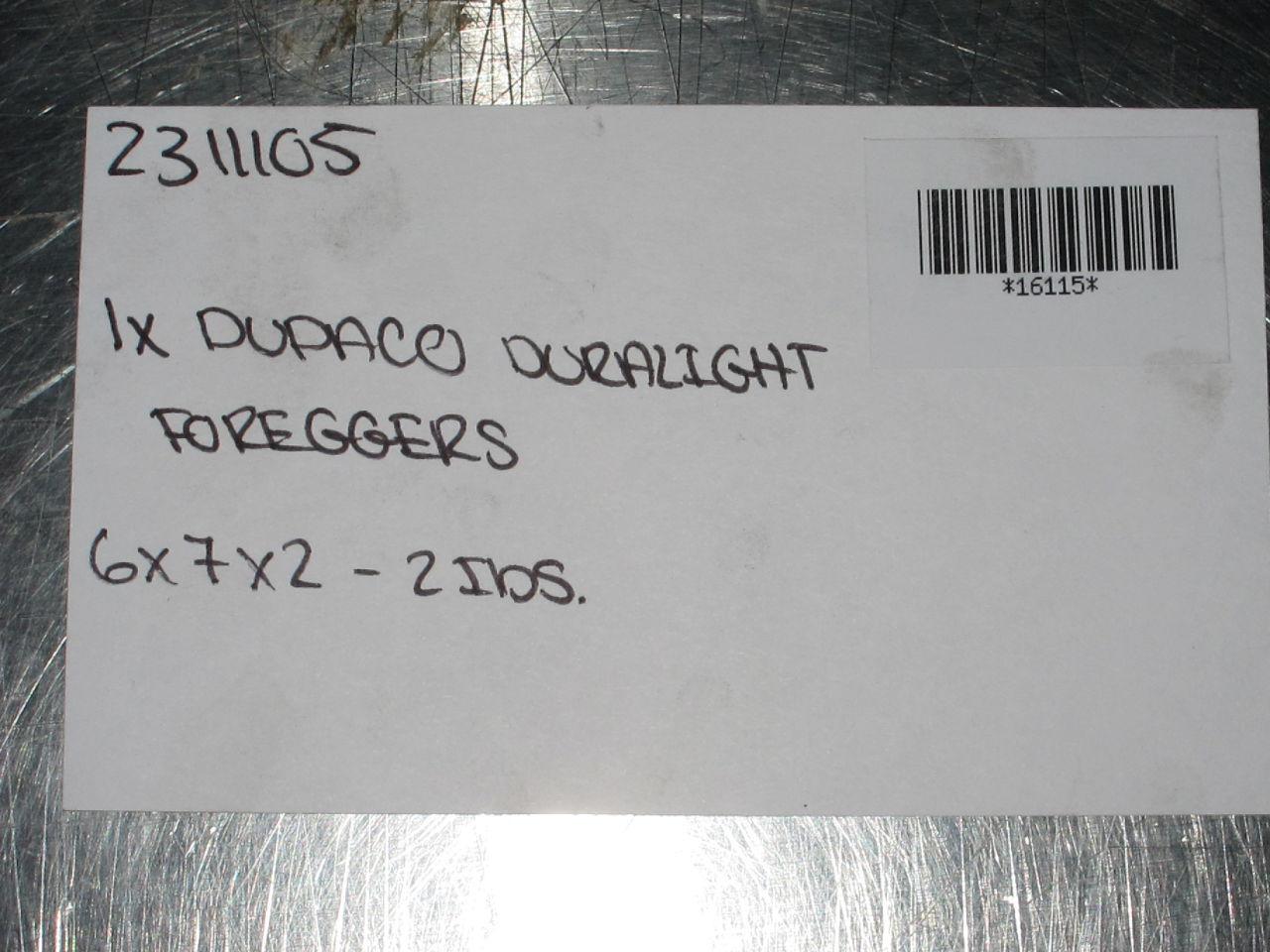 DUPACO Duralight Foreggers
