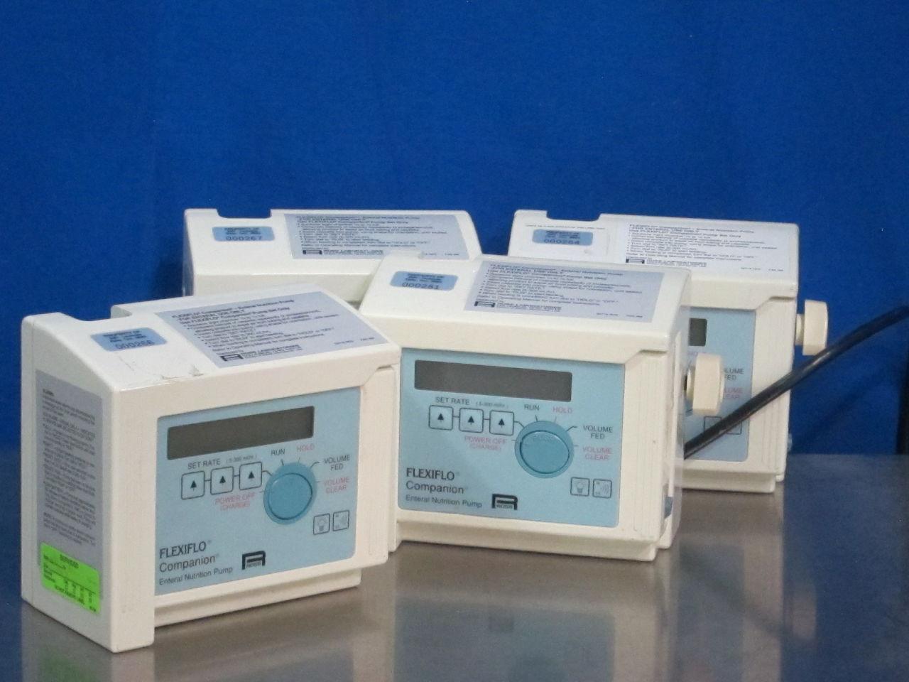 ROSS Flexiflo Companion  - Lot of 4 Feeding Pump