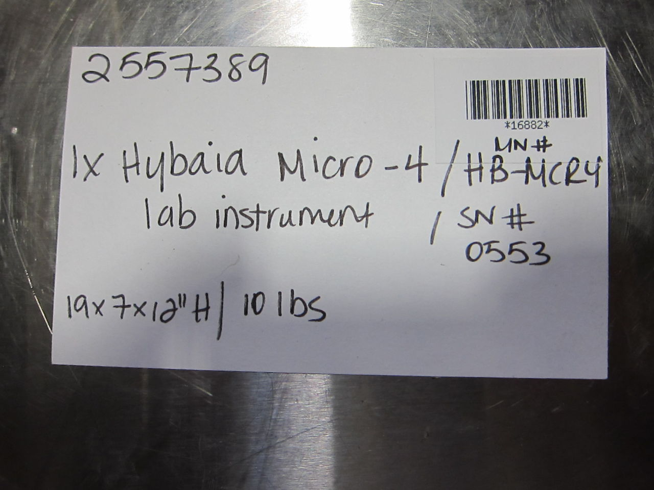 HYBAID Micro-4 Oven - Lab