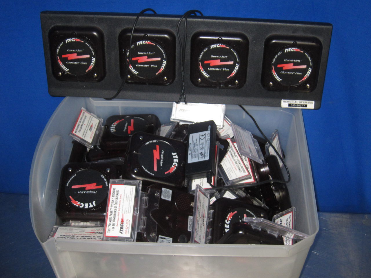 STANLEY VR Bedcheck and others  - Lot of 24 Telemetry