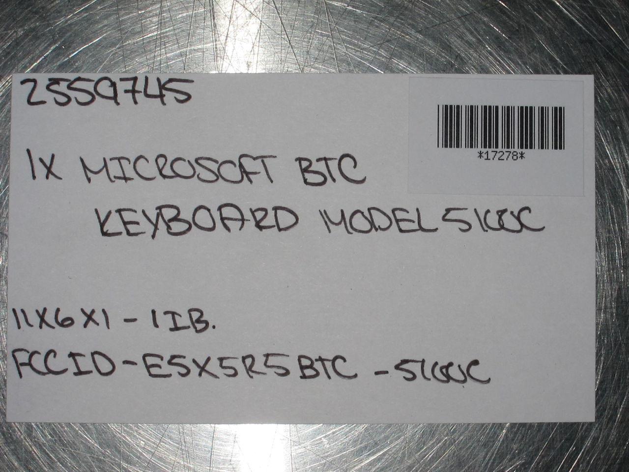 MICROSOFT 5100C Keyboard