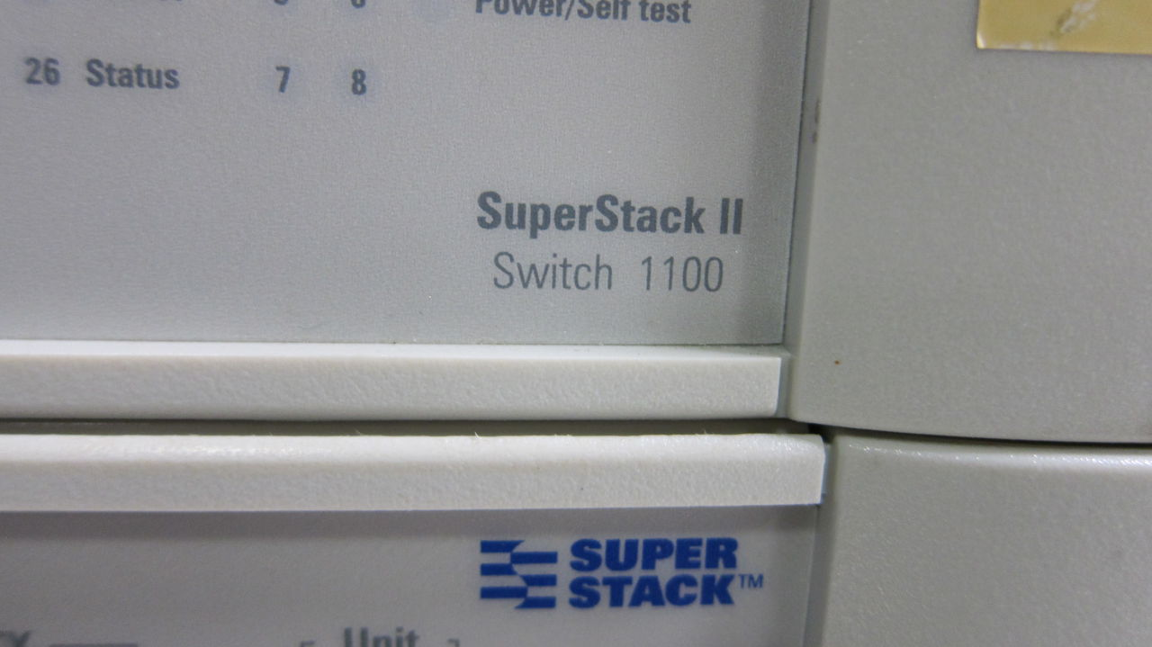 3COM Superstack II Switch 1100 24 Port  - Lot of 2