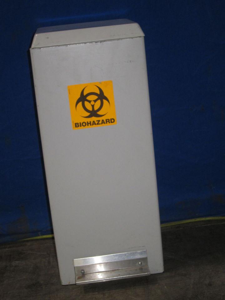 HAMILTON INDUSTRIES Biohazard Garbage Can Medical Waste Removal