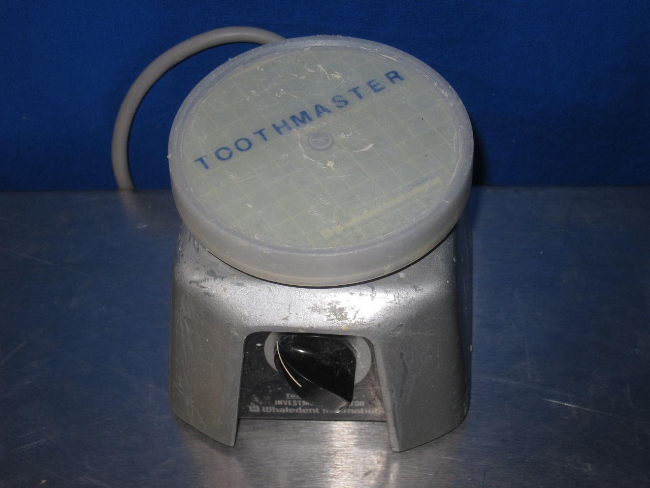 WHALEDENT INTERNATIONAL Toothmaster Investment Vibrator