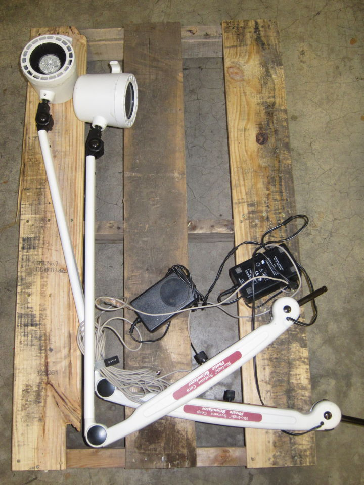 BIO-LOGIC SYSTEMS CORP 580-SSPLO1 Photic Stimulator - Lot of 2