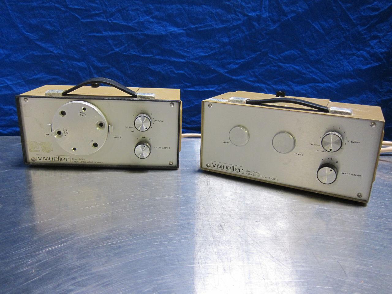 V. MUELLER Dual Beam  - Lot of 2 Light Source