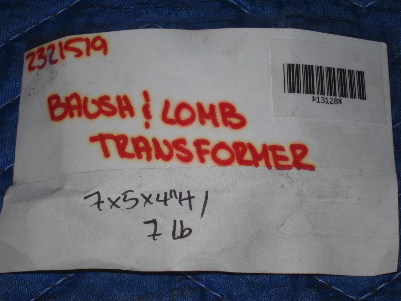 BAUSCH & LOMB  Transformer