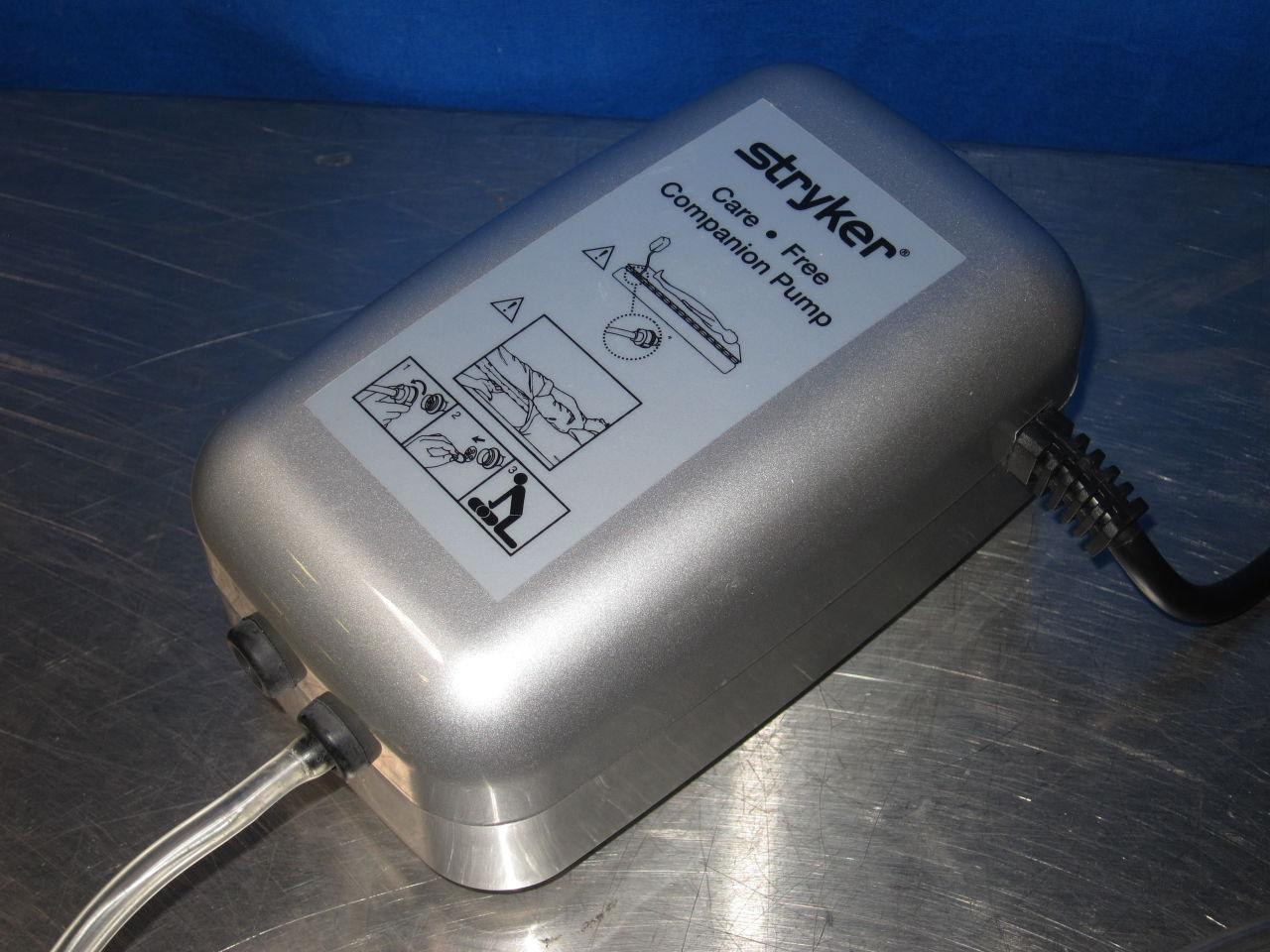 STRYKER Care Free Companion Air Mattress Pump