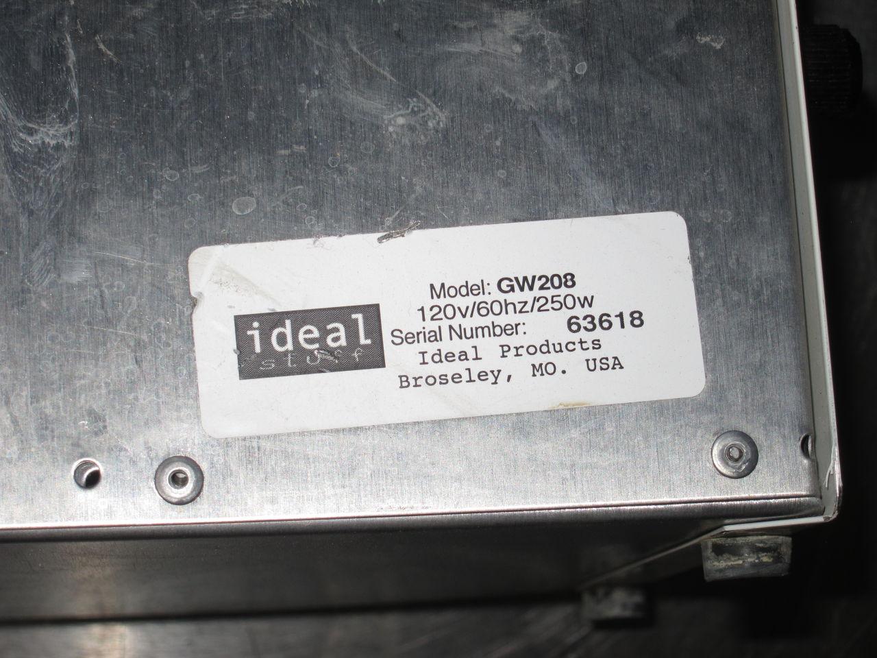IDEAL STUFF GW208 Standard Bottle Warmer