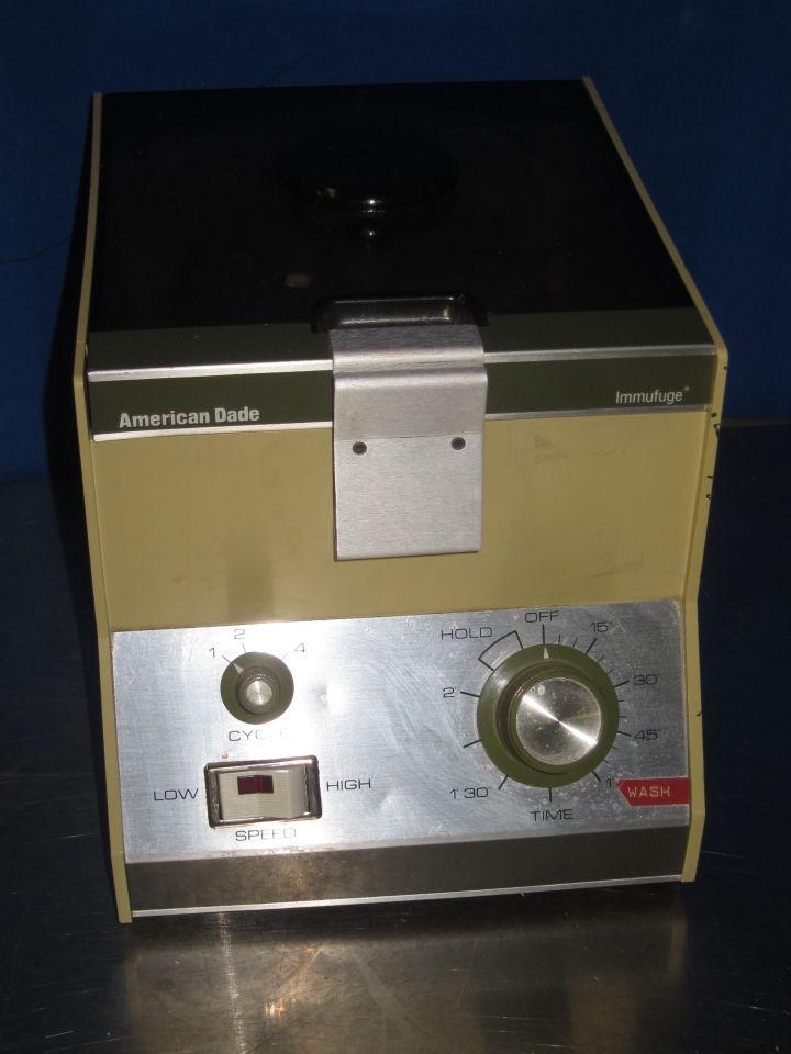 AMERICAN DADE 569 Centrifuge