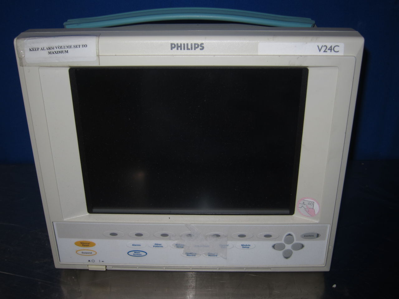 PHILIPS MEDICAL SYSTEMS M1205A Monitor