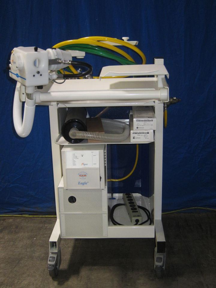 NSPIRE  Cardiorespiratory cart Ventilator