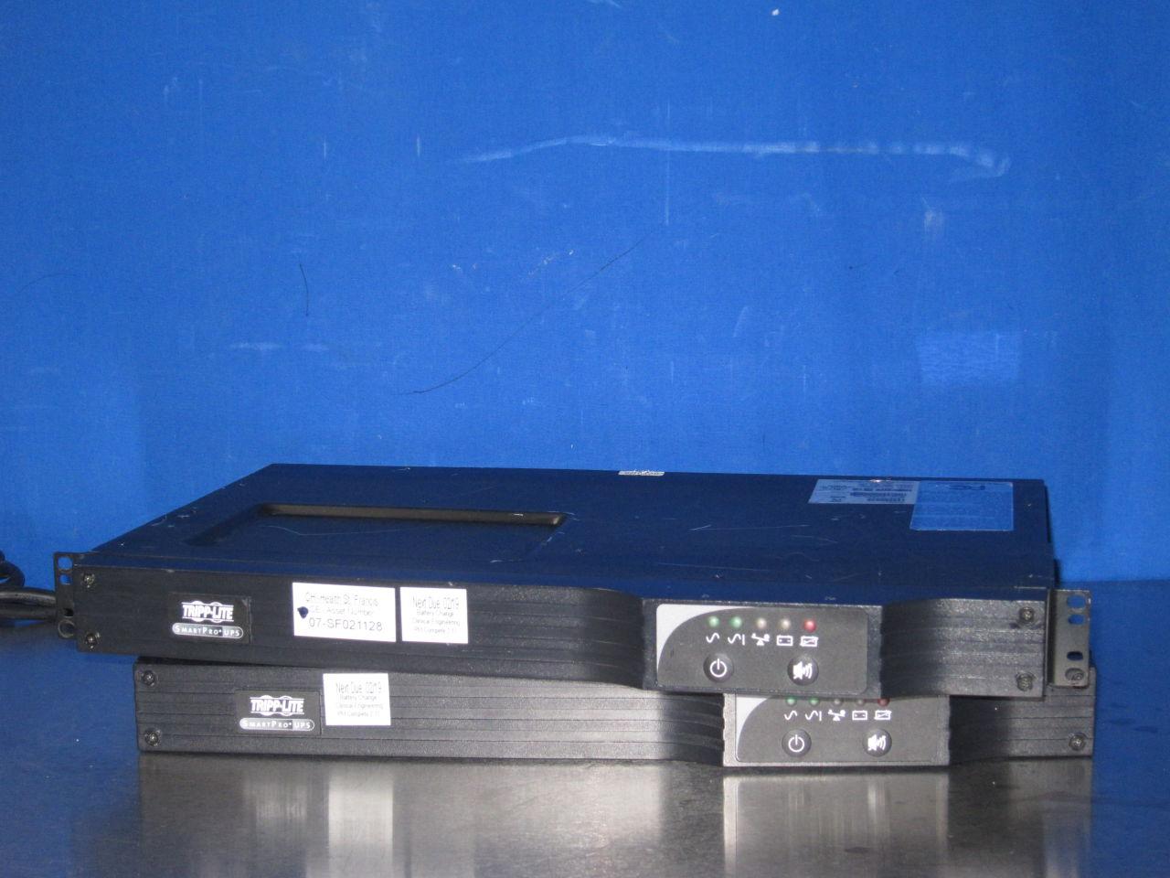 TRIPP-LITE Smart500RT1U  - Lot of 2 Uninterruptible Power Supply / UPS