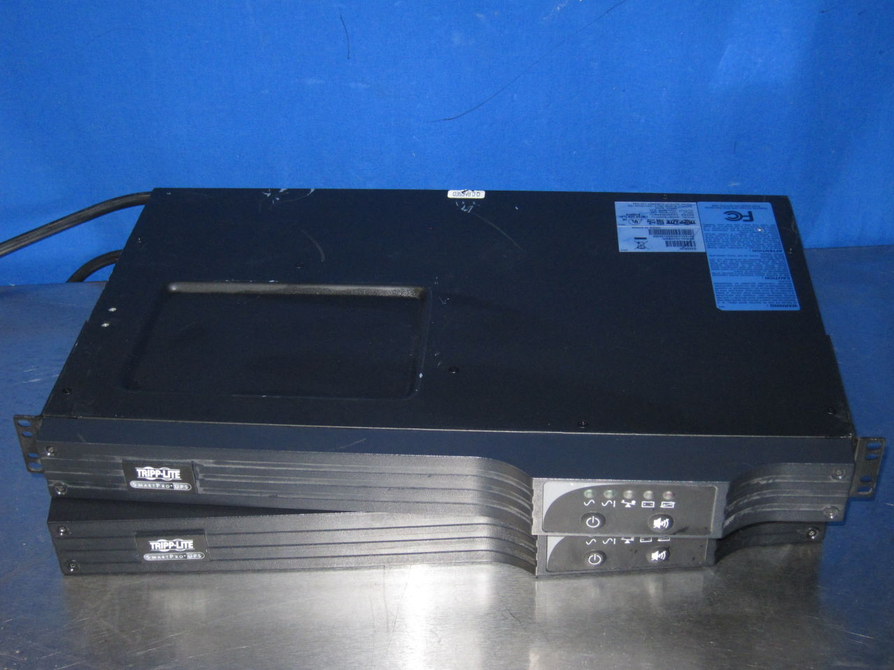 TRIPP-LITE Smart500RT1U  - Lot of 2 Uninterruptible Power Supply / UPS