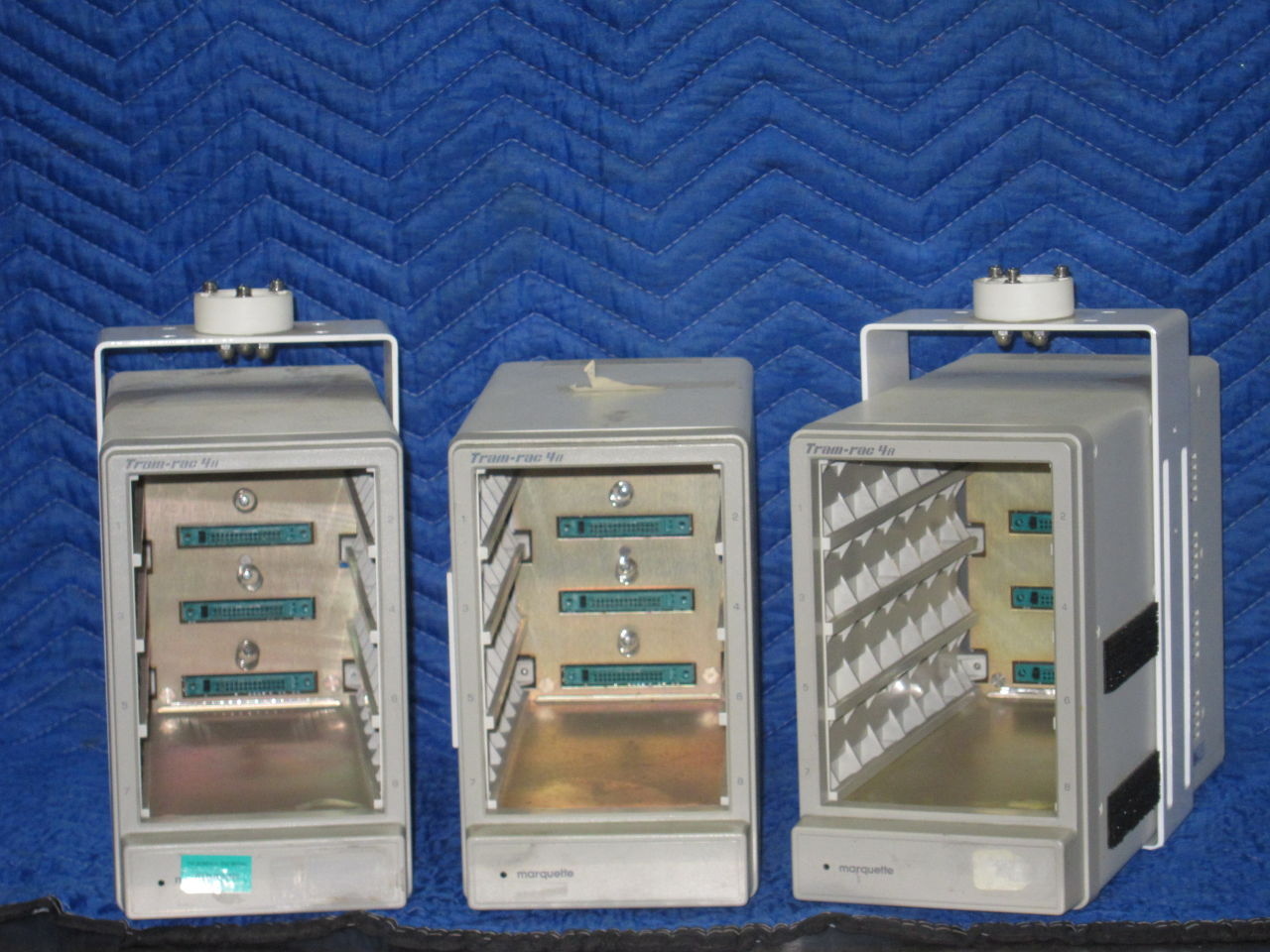 MARQUETTE Tram-Rac 4A  - Lot of 3 Module Rack