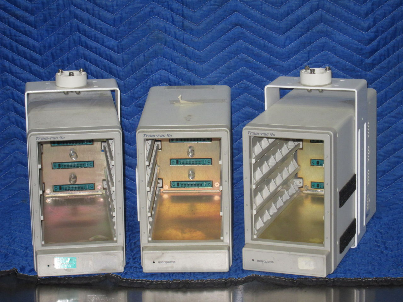 MARQUETTE Tram-Rac 4A  - Lot of 3 Module Rack