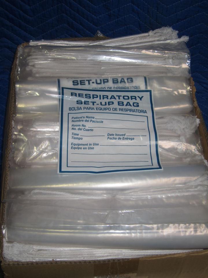 Respiratory Set-Up Bag