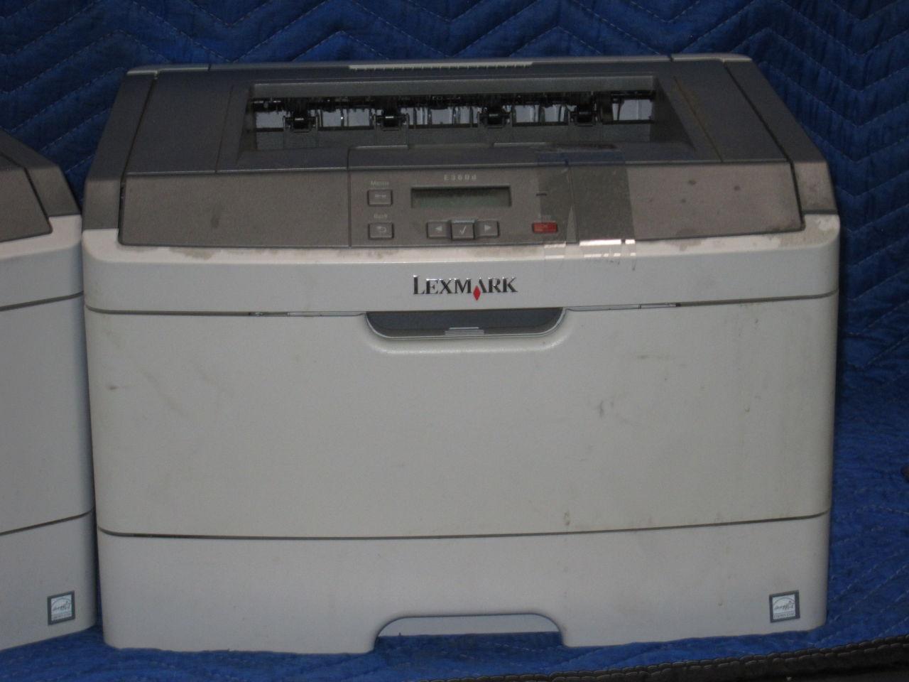 LEXMARK E360D  - Lot of 2 Printer