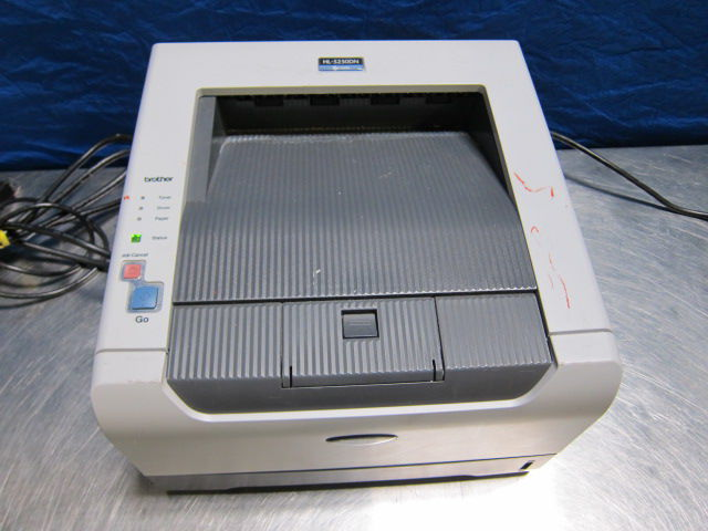 BROTHER HL-5250DN w/ Power and Computer Connection Cord Printer