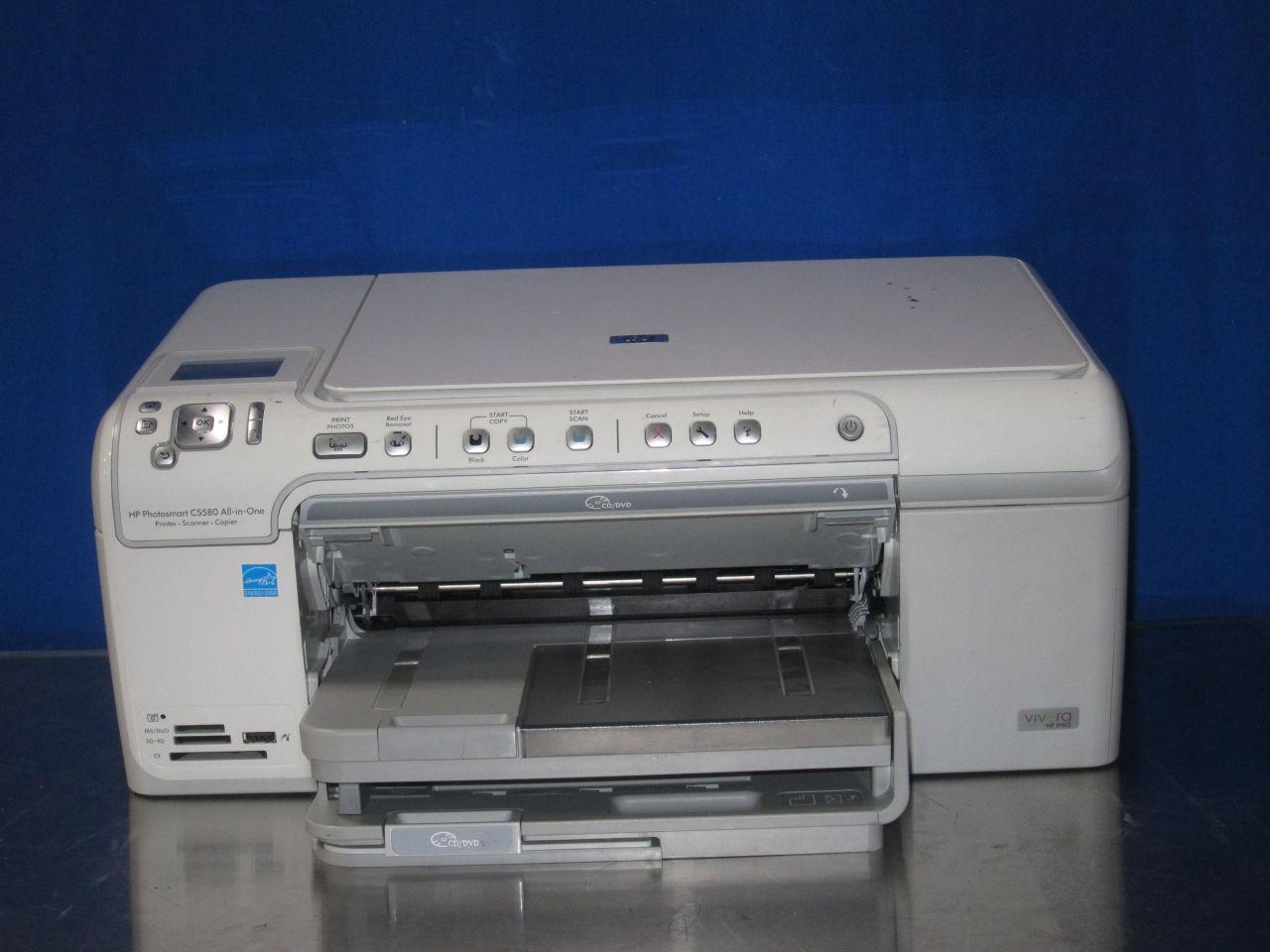 HP Photosmart C5580 Printer