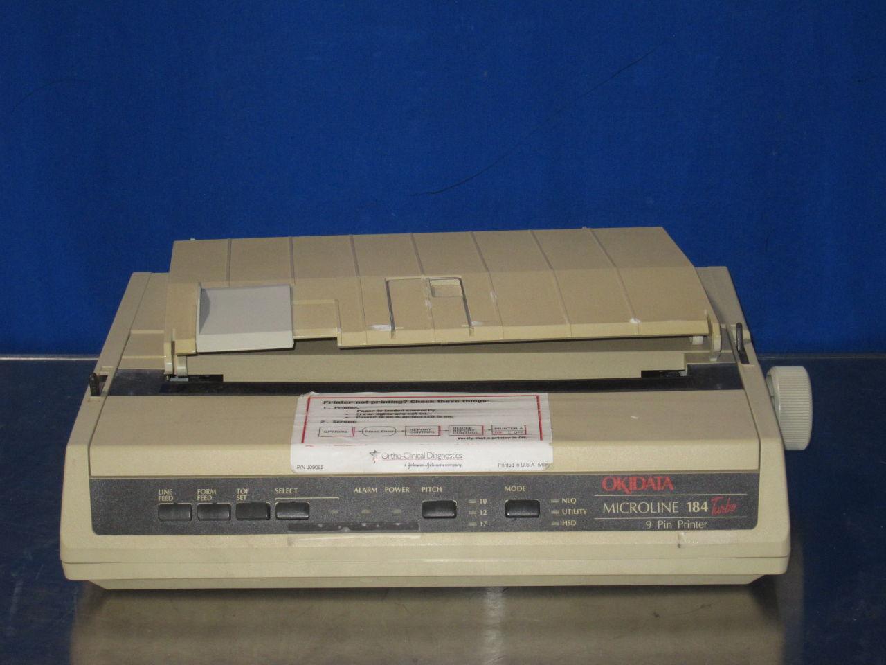 OKIDATA Microline 184 Turbo Printer