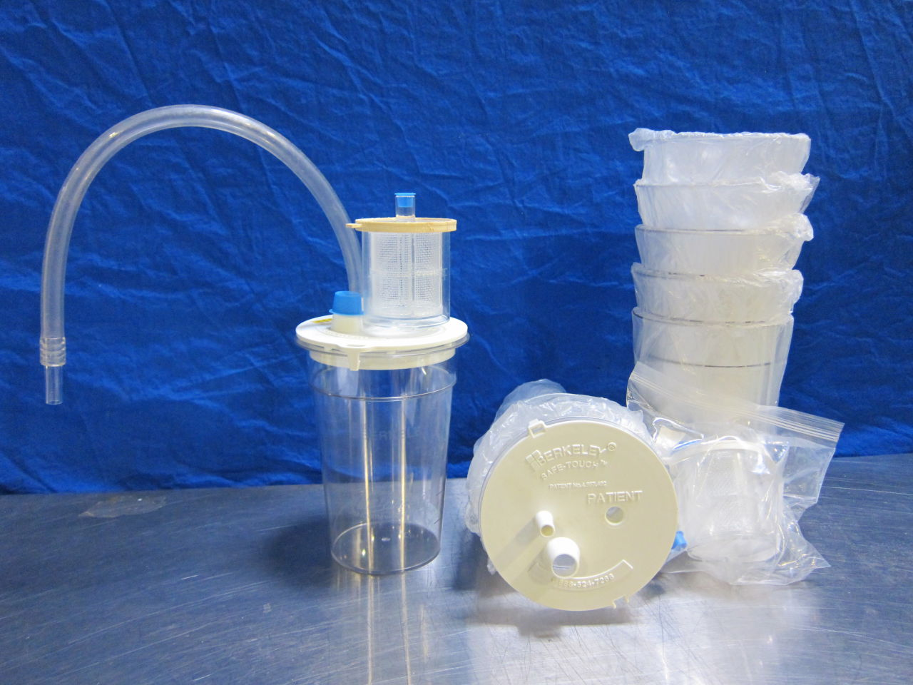 BERKELEY Safe-Touch Tissue Traps/Vacuum Supplies Vacuum Equipment