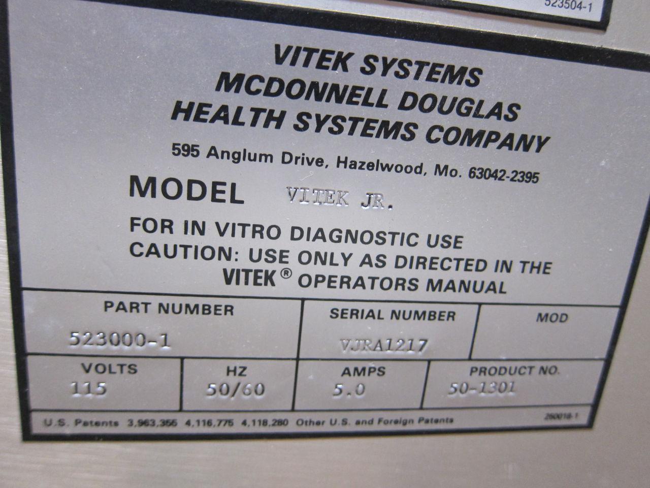 VITEK SYSTEMS 59SU Module