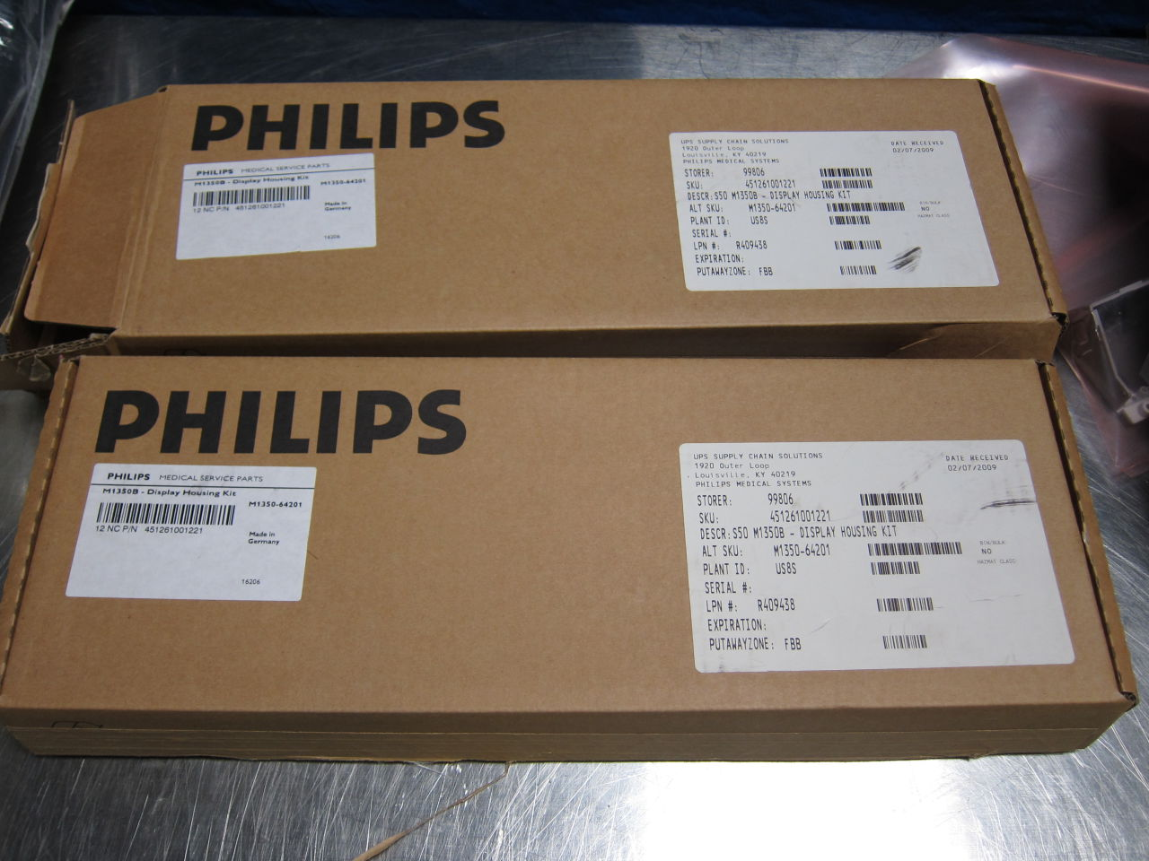 PHILIPS Various New in box replacement accessories - Lot of 5