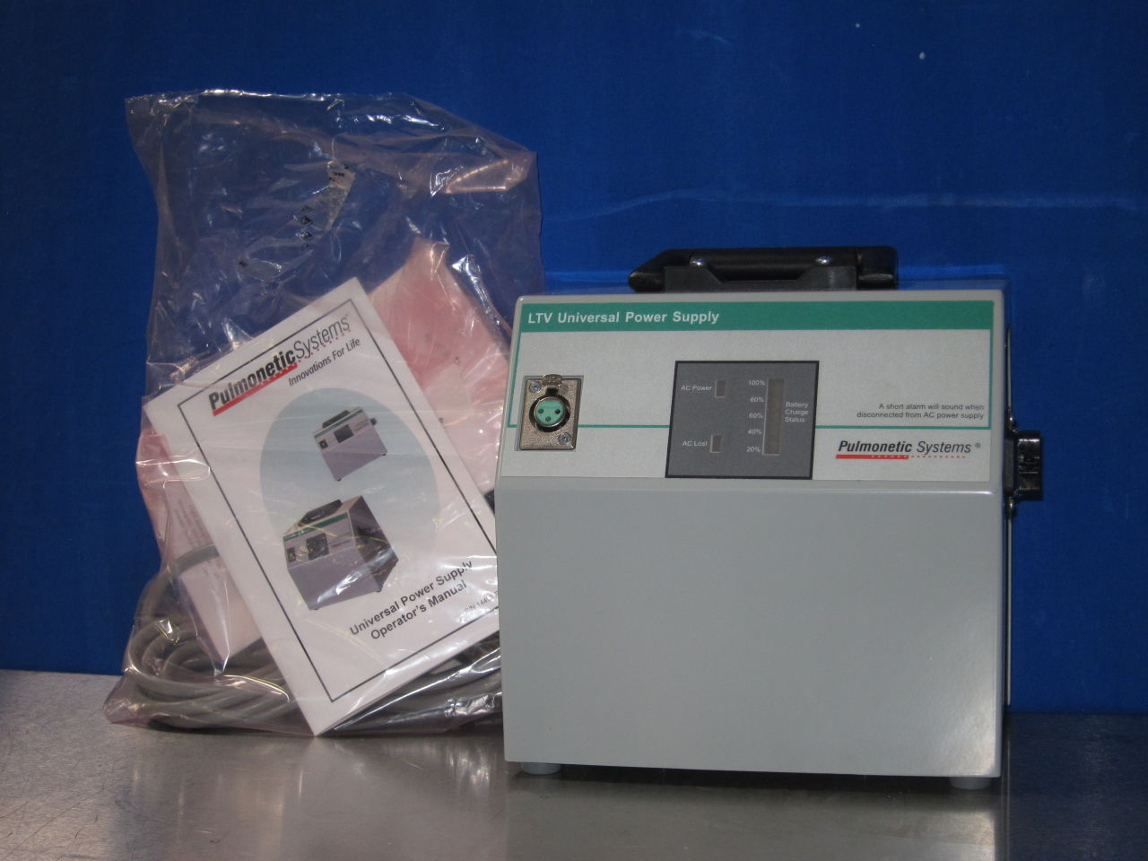 PULMONETIC SYSTEMS  Power Supply