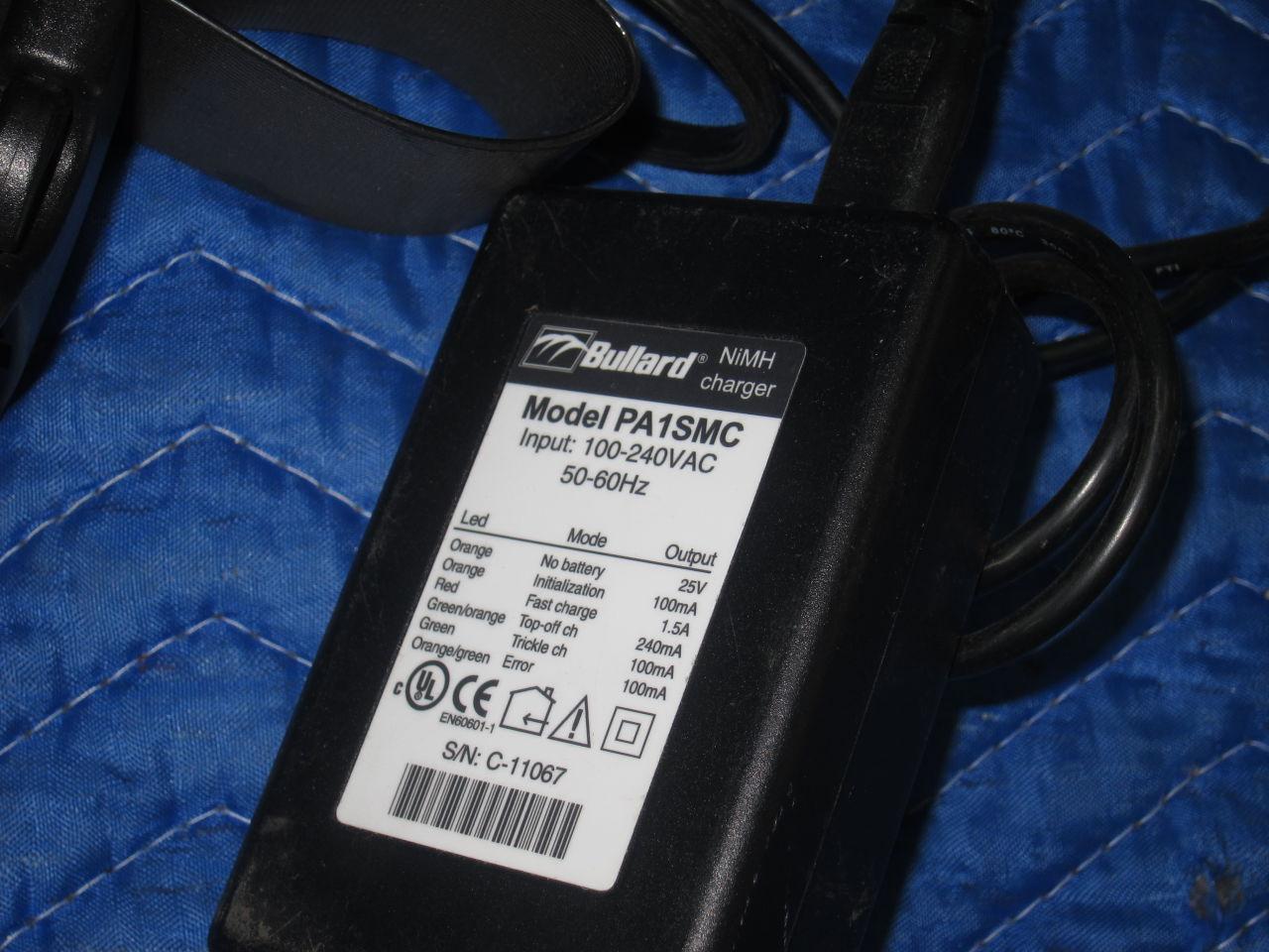 BULLARD PA20 Model PA1SMC Respirator